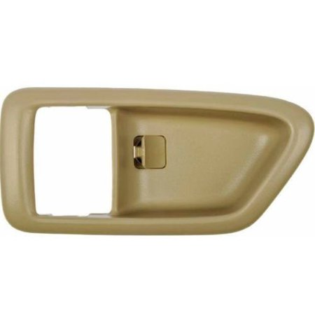- Parts N Go 1997-2001 Camry Solara Inner Door Handle Trim Bezel Left Hand Driver Side Front or Rear