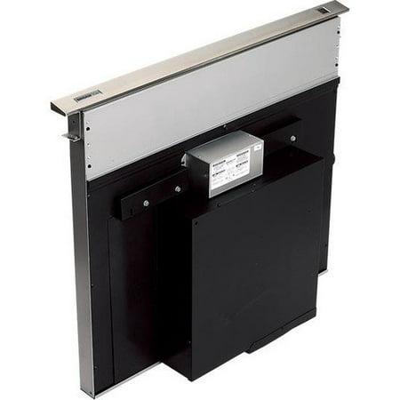 Broan RMDD3004 500 CFM 30u0022 Wide Stainless Steel Downdraft Range Hood with Heat S