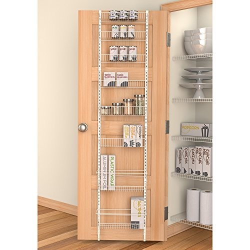 Grayline Housewares Adjustable 8 Shelf Over The Door