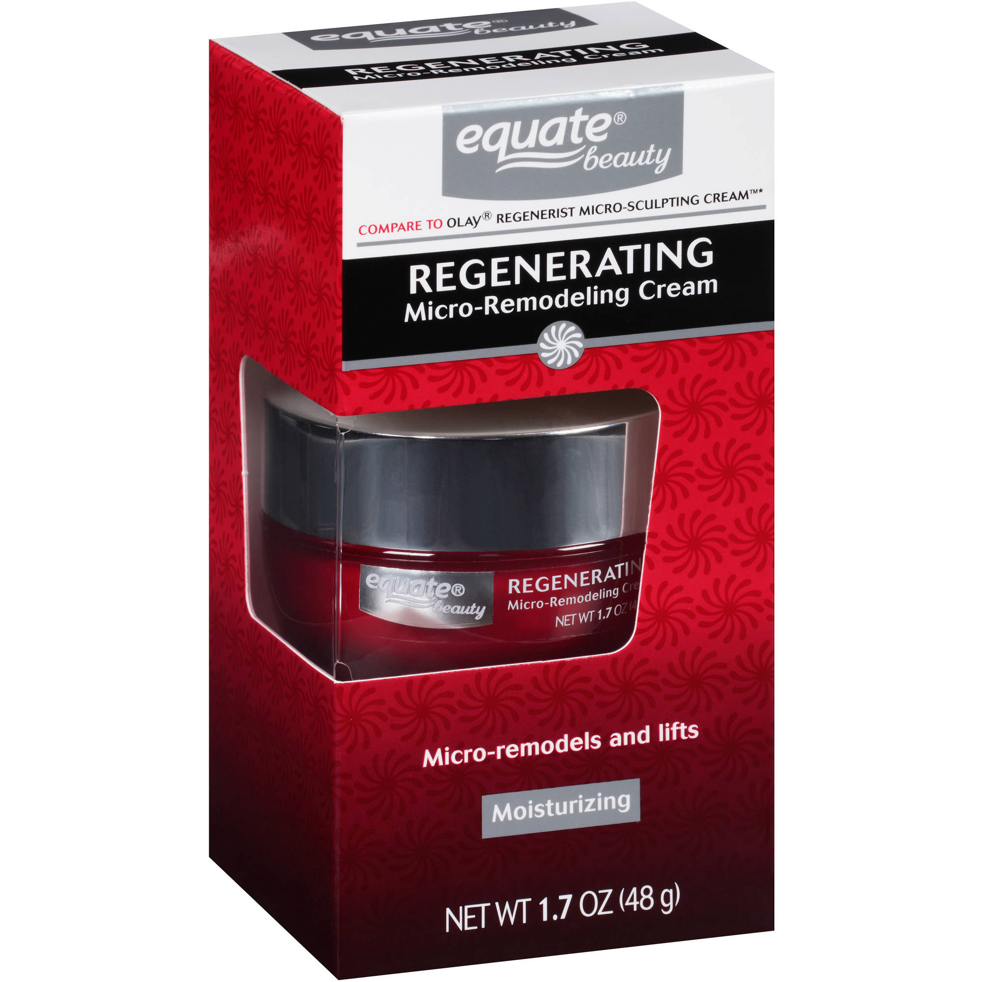 Equate Rejuvenating Micro-Remodeling Cream, 1.7 oz