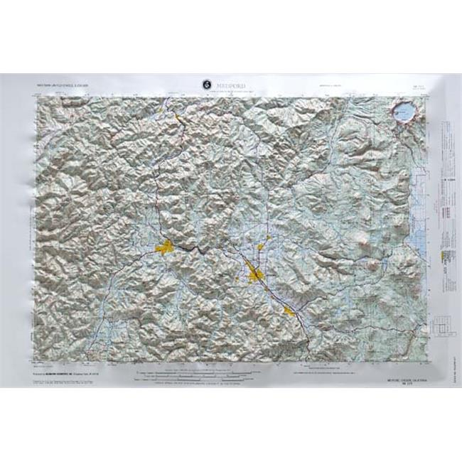American Educational Products Nk105 Medford Map