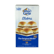 White Castle Original Sliders, Frozen Hamburger Sliders, 16 Count