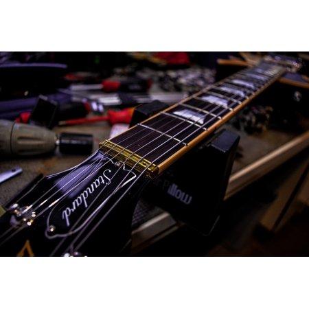 Canvas Print Workshop Gibson Guitar Laspaul Strings Repair Stretched Canvas 10 x 14