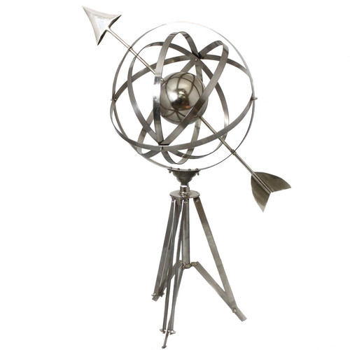 EC World Imports Floor Armillary Sphere World Tripod Globe