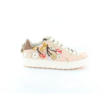Coach Cherry Women's Fashion Sneakers, Light Pink, Size 10.0