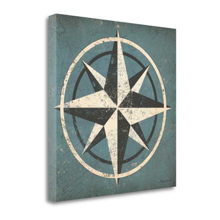 Nautical Compass Blue by Ryan Fowler - image 1 of 2