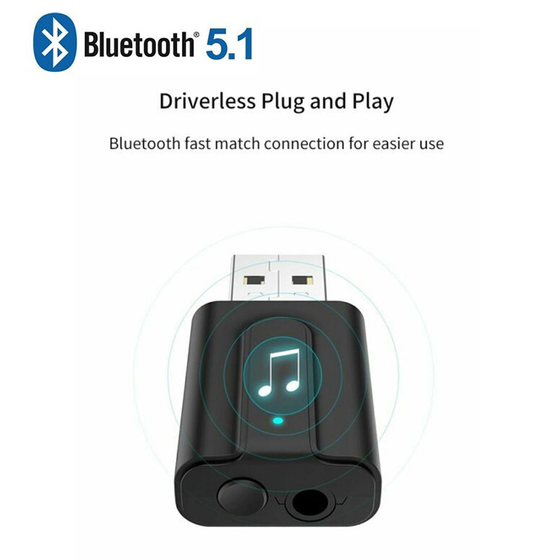 2 in 1 bluetooth 5 1 usb bluetooth transmitter and receiver television computer wireless audio. Black Bedroom Furniture Sets. Home Design Ideas
