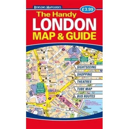 HANDY LONDON MAP & GUIDE (London Flughafen-shops)
