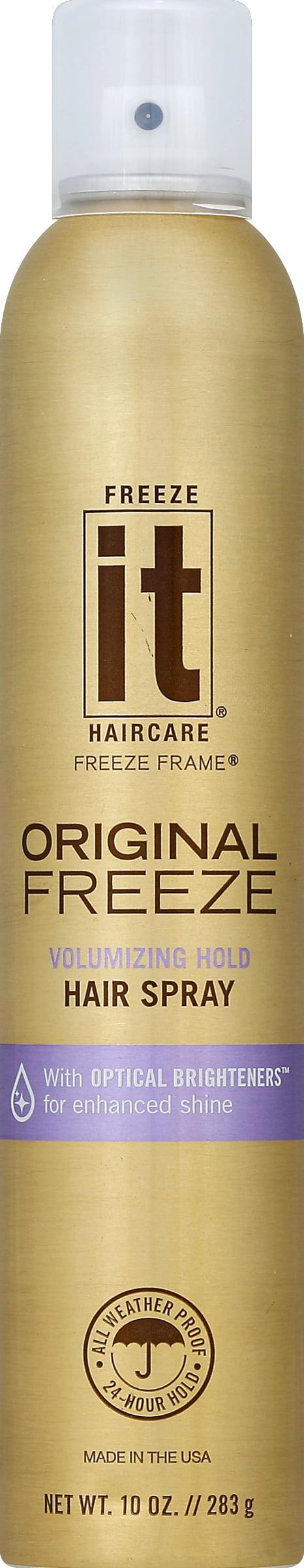 Freeze It Freeze Frame Hair Spray, Original Freeze, 10 0 Ounce