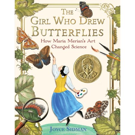 The Girl Who Drew Butterflies: How Maria Merian's Art Changed Science (Hardcover) - Butterfly Art Projects