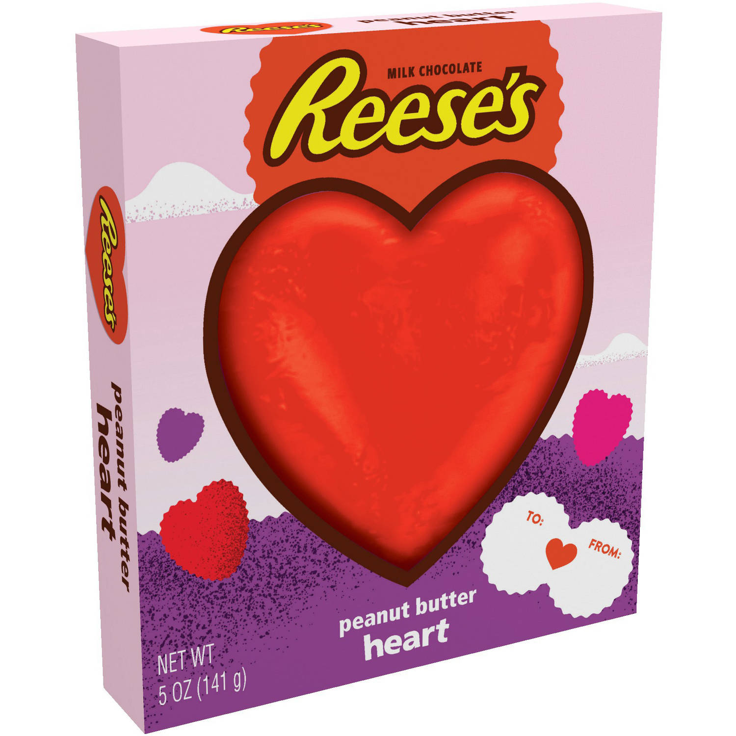 Reese's Valentine's Peanut Butter Heart Candy, 5 oz