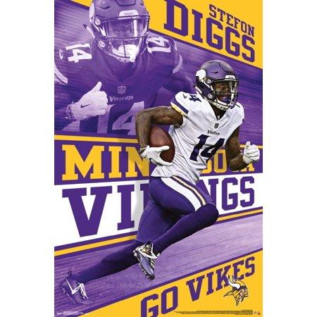 Stefon Thanksgiving (Minnesota Vikings - Stefon Diggs Poster)