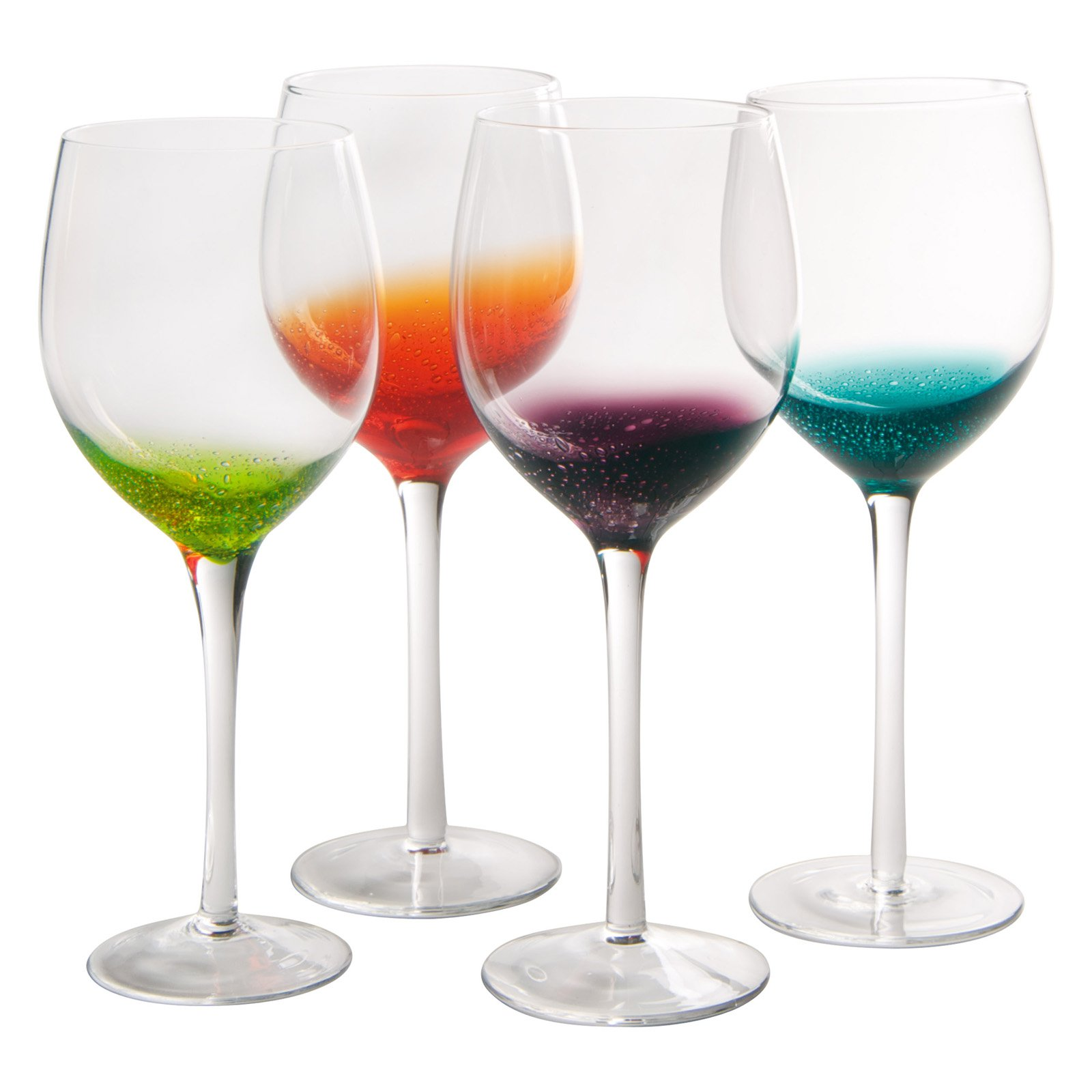 Artland Inc. Fizzy Goblet Glasses - Set of 4