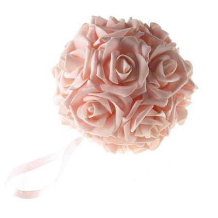 Soft Touch Flower Kissing Balls Wedding Centerpiece, 6-inch](Kissing Balls)