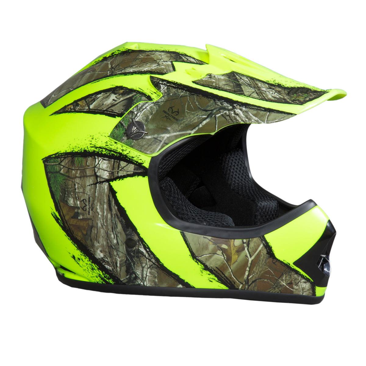 SHC Youth MX / ATV Helmet Realtree Xtra Camo - DOT Approv...