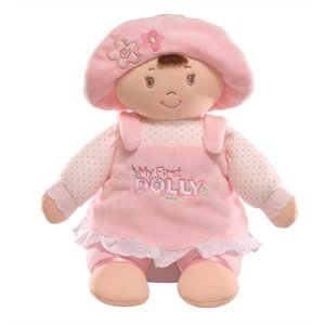 "Gund 13"" My First Dolly Brunette"