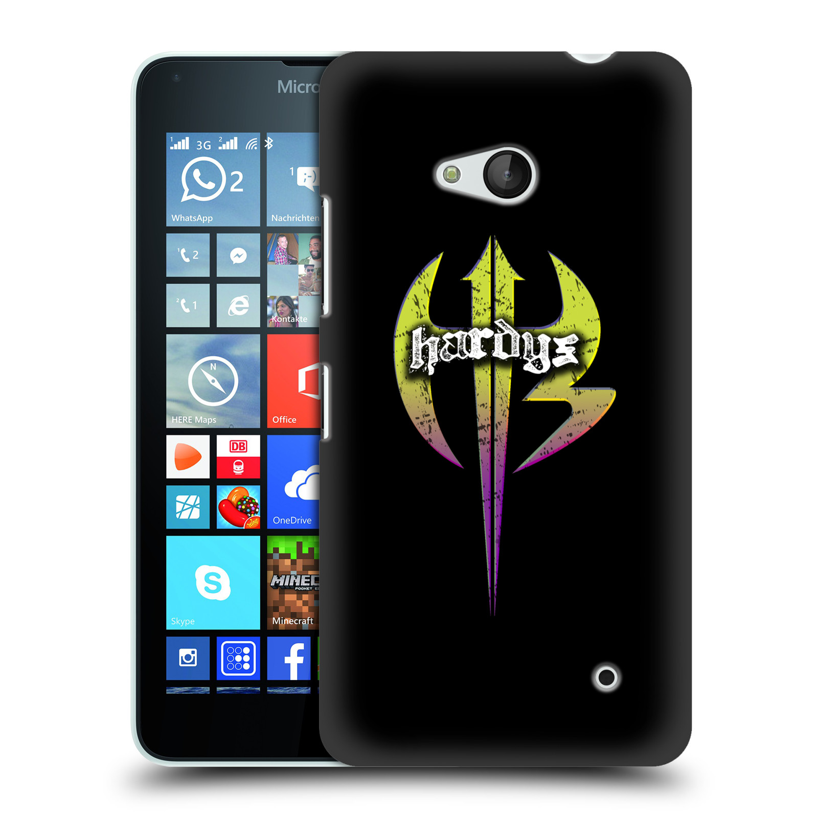 OFFICIAL WWE THE HARDY BOYZ HARD BACK CASE FOR MICROSOFT PHONES