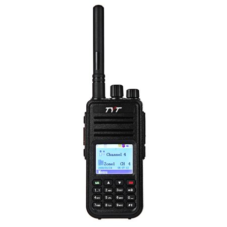 Tyt Md   380 Vhf Portable Walkie Talkie Digital Transceiver With Colorful Display