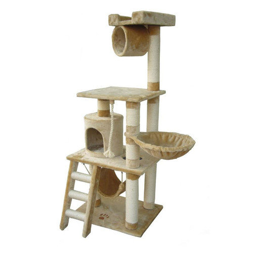 Kitty Mansions 62'' Boston Cat Tree