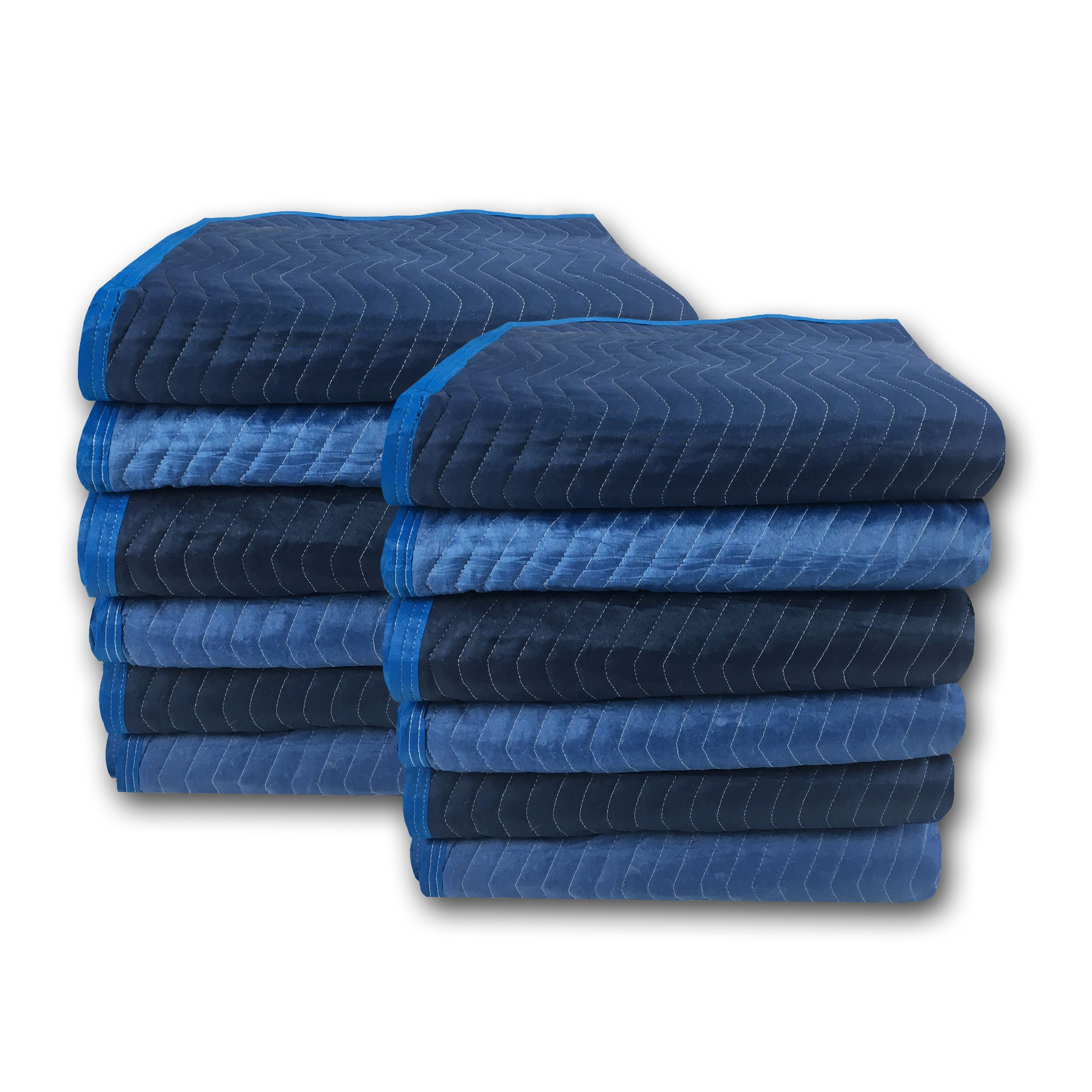 Uboxes Super Supreme Moving Blankets, 72 x 80 in, 7.92lbs each, 12 Pack