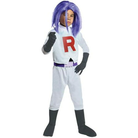 Pokemon James Team Rocket Costume Child - Team Snapchat Halloween