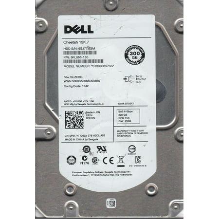 ST3300657SS, 6SJ, SUZHSG, PN 9FL066-150, FW ES66, Dell 300GB SAS 3.5 Hard Drive Hard Drive Sas Disk