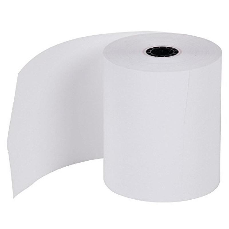 "EPSON PRINTERS 1-PLY BOND PAPER - 3"" X 165' Made in USA f..."
