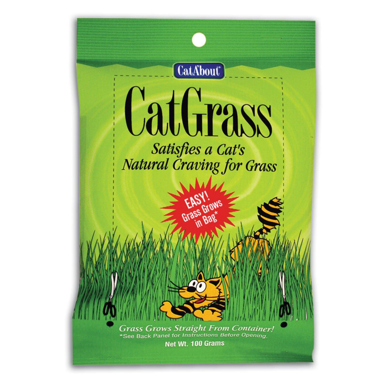 Cat A'bout Cat Grass, 100 grams