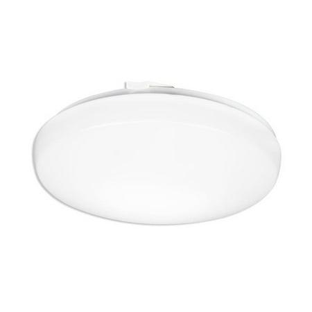 Lithonia Lighting Litepuff LED Low-Profile Residential Round Flush Mount