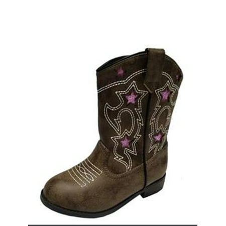 Wonder Nation Toddler Girls' Cowboy Boot