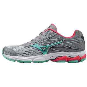 Mizuno Womens Wave Catalyst 2 Running Shoes Grey Mint Size 9