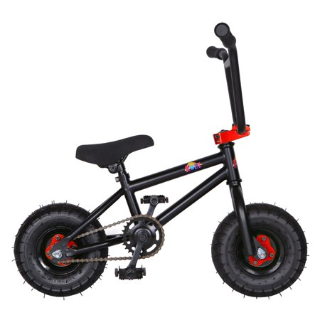 """KOBE Mini BMX Trick Bike - Off-Road to Skate Park, Freestyle, Trick, Stunt Bicycle 10"""" Wheels for Adults and Kids - Red - image 8 de 12"""