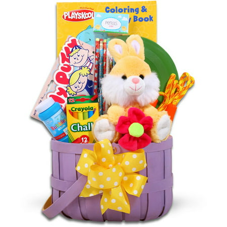 Jamboree bunny and art supplies easter basket walmart jamboree bunny and art supplies easter basket negle Image collections