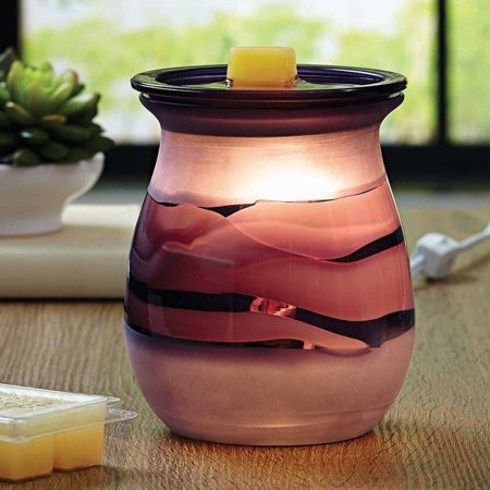 Better Homes & Gardens Full Size Mulberry Art Glass Scented Wax Warmer