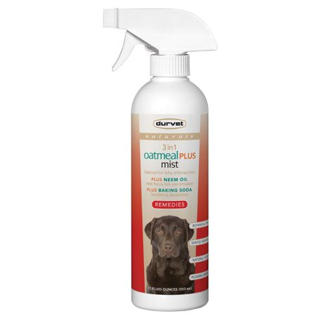 Durvet Naturals Remedies 3 in 1 Oatmeal Plus Mist (Dog Mist)