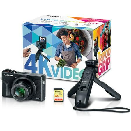 Canon PowerShot G7 X Mark III 20.1MP Digital Camera 4K Video Creator Kit