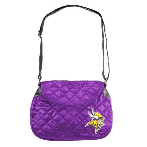 NFL - Minnesota Vikings Retro Quilted Saddle Bag