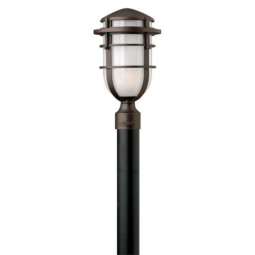 Hinkley Lighting  1951-GU24  Post Lights  Reef  Outdoor Lighting  ;Victorian Bronze