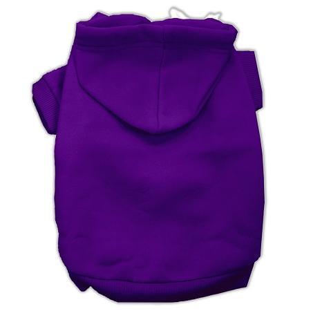 Blank Hoodies Purple Size M (12)