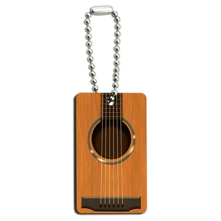 Acoustic Guitar Strings Wood Rectangle Key
