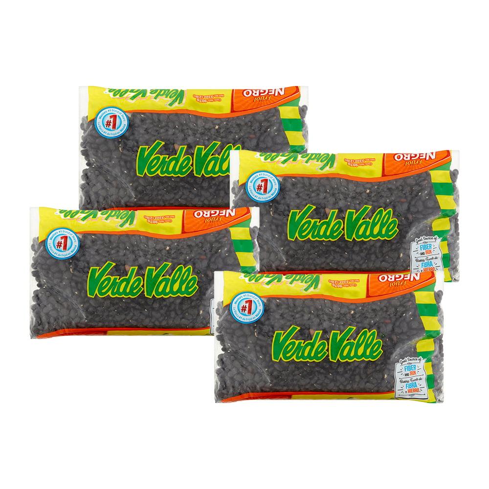 (4 Pack) Verde Valle Black Beans, 32 oz