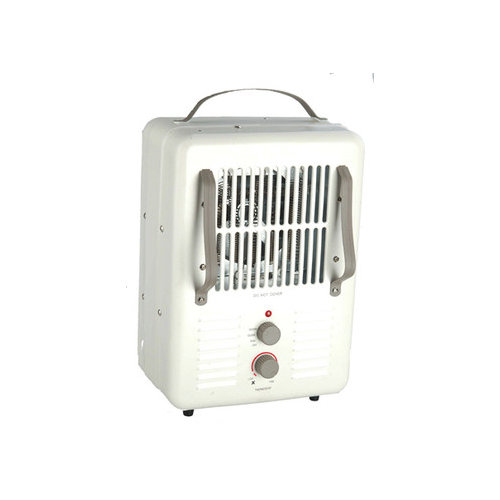 World Marketing Milkhouse Style Compact Sapce Space Heater with Grounded Plug