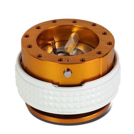 NRG Innovations SRK-210RG-GL Steering Wheel Quick Release Adapter Gen 2.1 Rose Gold Body/Glow In Dark Ring