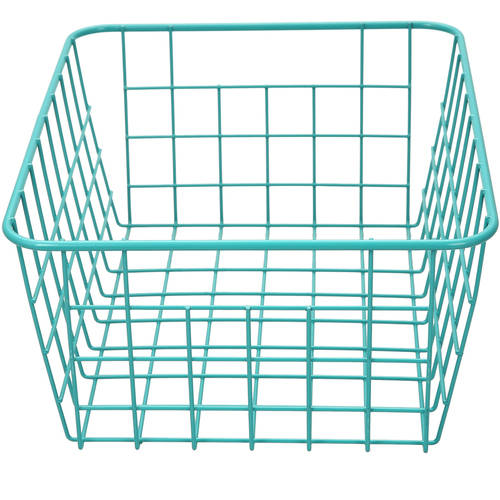 Mainstays Wire Basket, Available in Multiple Colors, Pack of 6