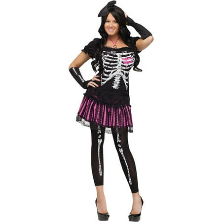 Sally Skelly Adult Halloween Costume - Sally Makeup Halloween