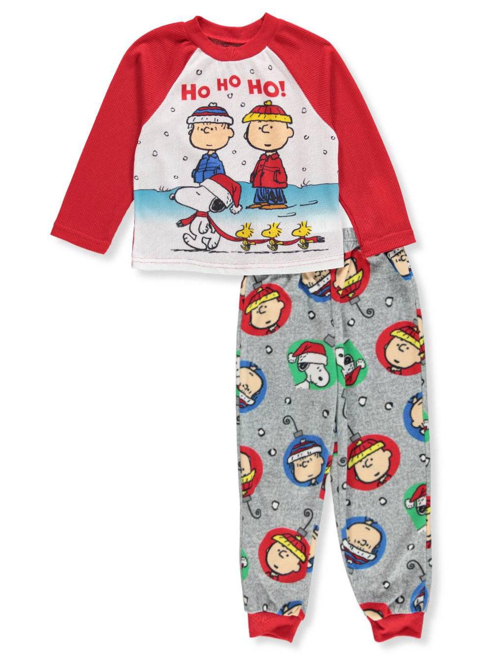 Peanuts Boys' 2-Piece Pajamas