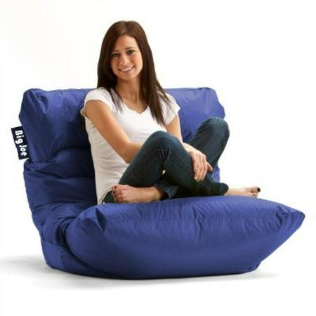 Groovy Big Joe Roma Bean Bag Chair Sapphire Theyellowbook Wood Chair Design Ideas Theyellowbookinfo