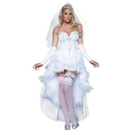 In Character Costumes Blushing Bride Costume 8037 White - Nintendo Characters Costumes