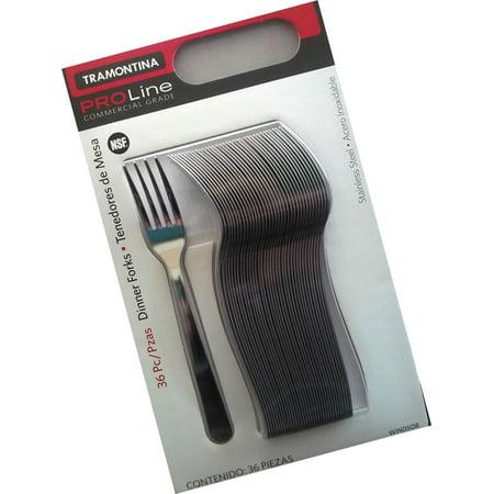 Tramontina PROLine Commercial Grade - Stainless Steel Forks ~ 36 ct Dinner Forks