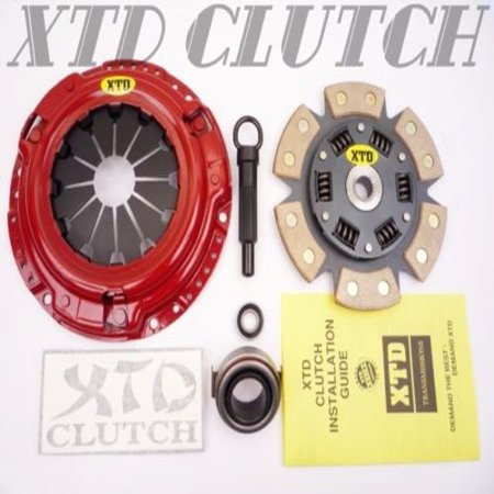 XTD® STAGE 2 STREET CLUTCH KIT FITS FOR NISSAN 90-96 300ZX NON TURBO